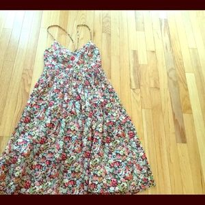 J.Crew Liberty Pattern dress in size 0